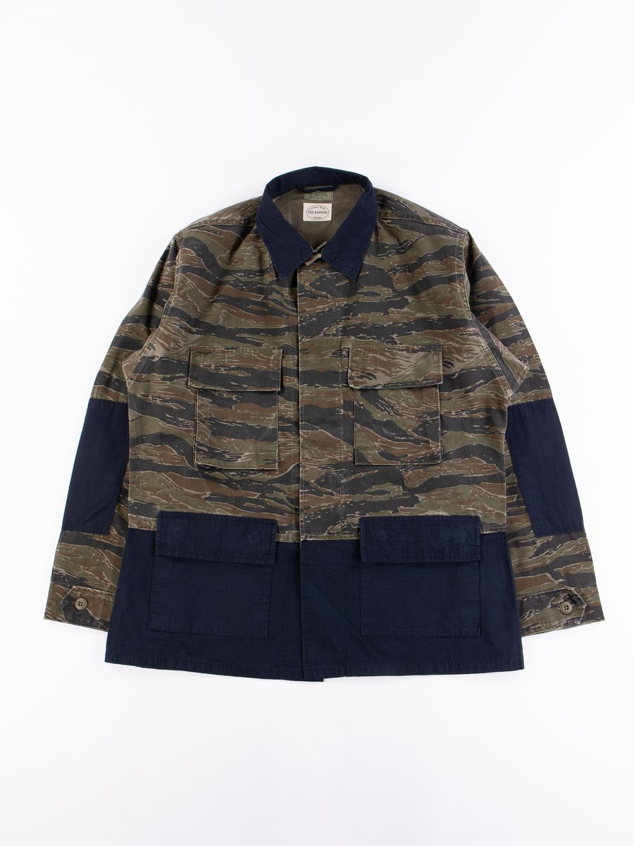 Reworks Camo/Navy Field Jacket
