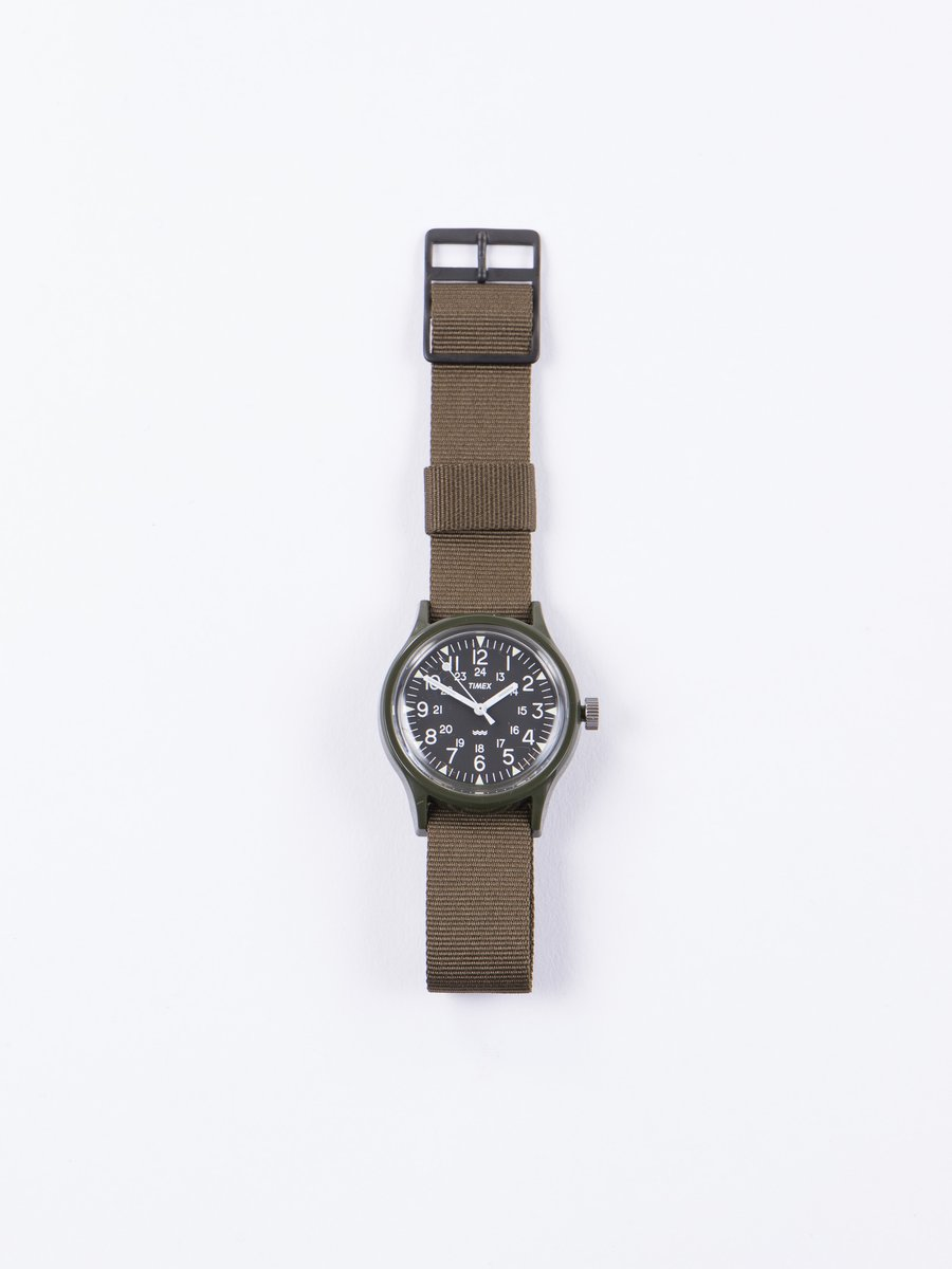 Green/Black w/ Army Green Strap Camper MK1 Watch