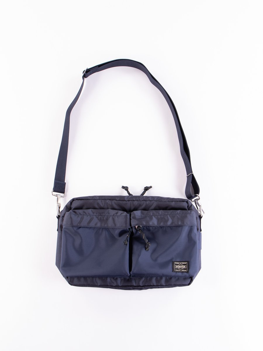 Navy Force Small Shoulder Bag