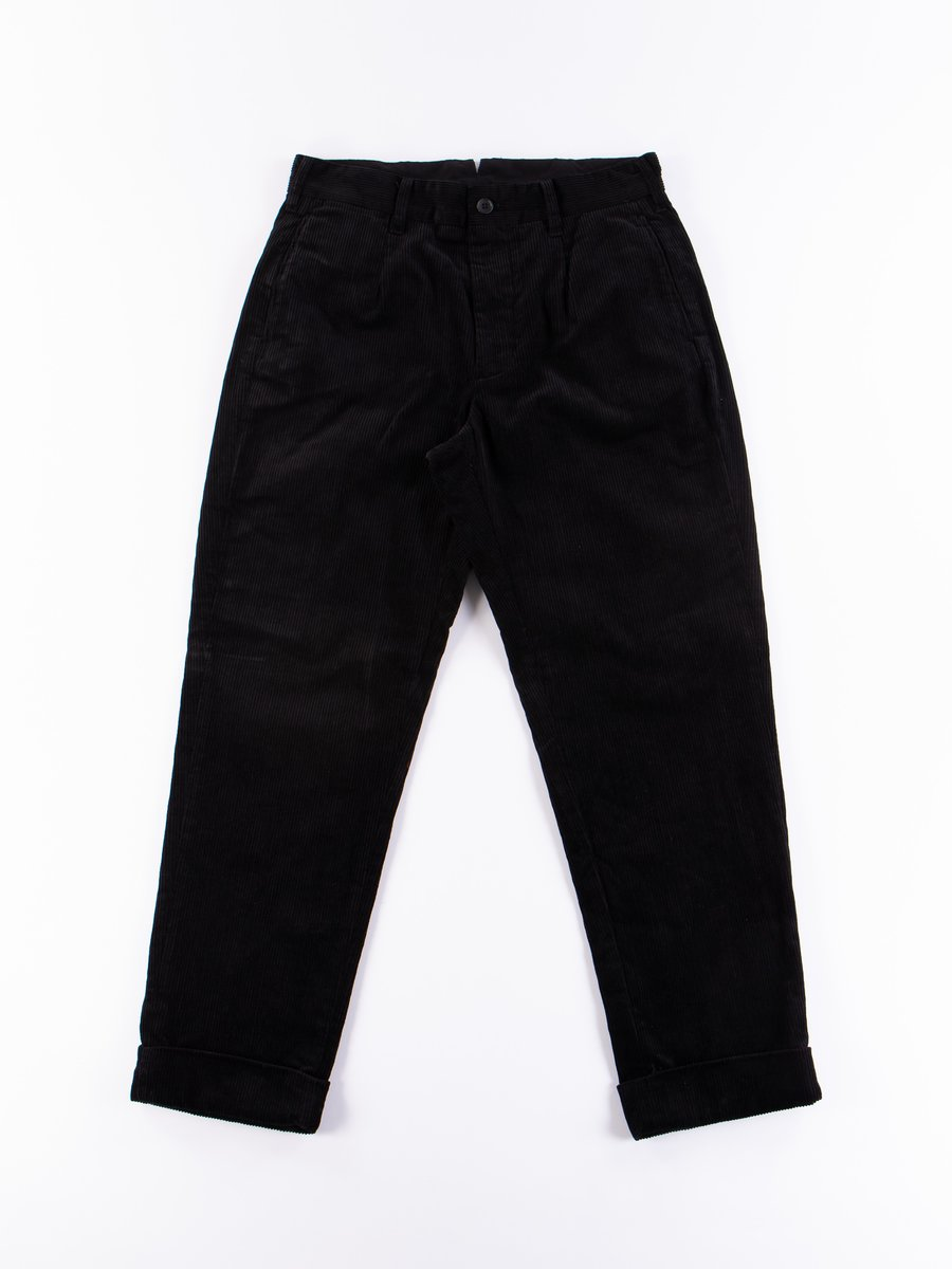 Black 8W Corduroy Andover Pant