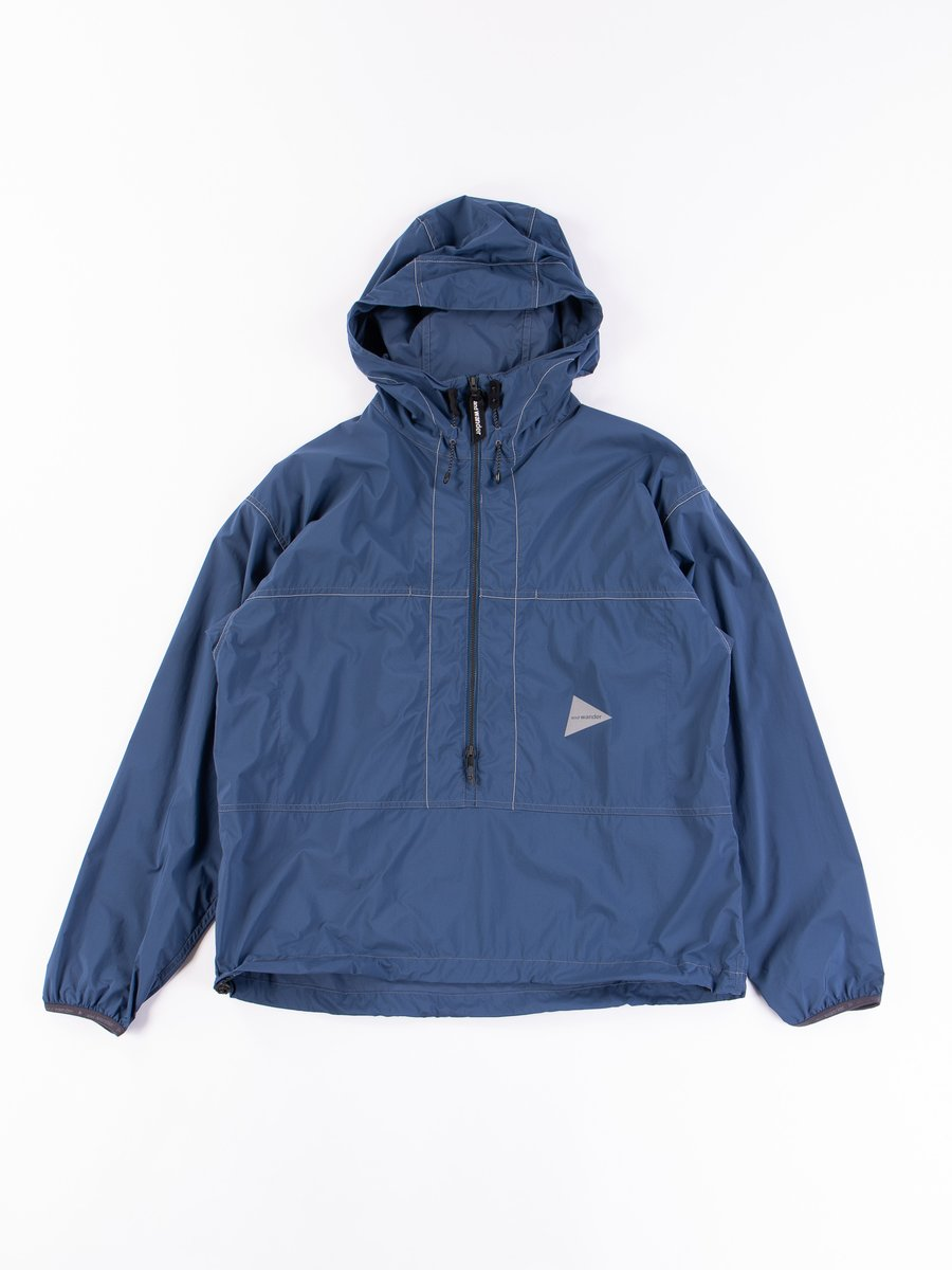 Blue Pertex Wind Pullover