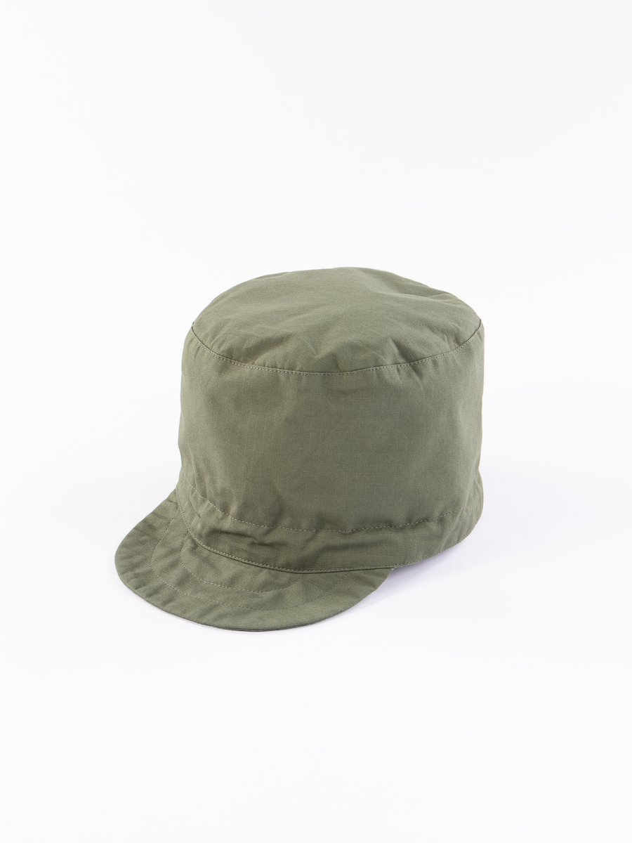 Olive Cotton Ripstop FM Cap