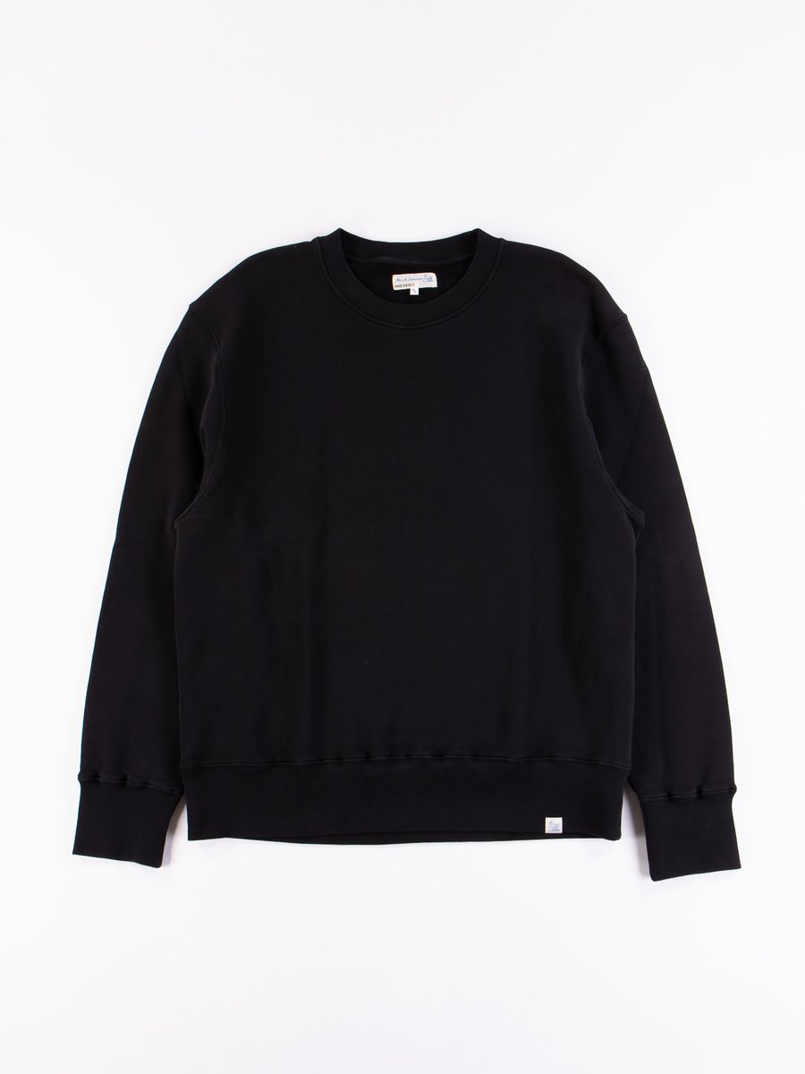 Deep Black Good Basics CSWOS01 Oversized Crew Neck Sweater