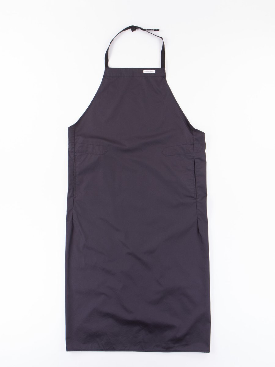 Dark Navy High Count Twill New Long Apron