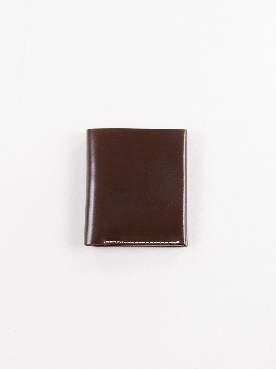 Cognac Horween Cordovan 2–2 Wallet