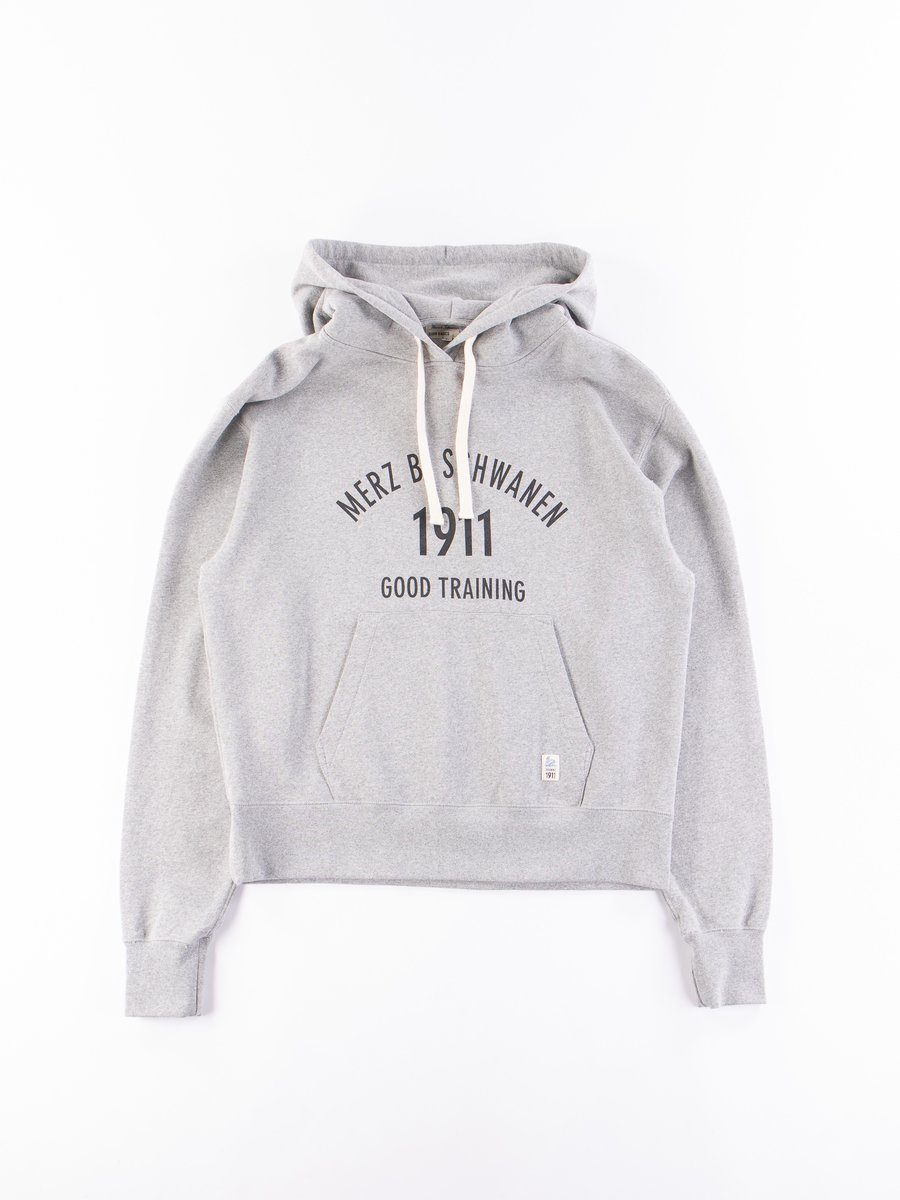 Grey Melange Good Training Hooded Sweatshirt