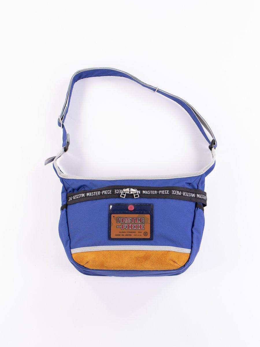 Blue 02163 Omocha Shoulder Bag