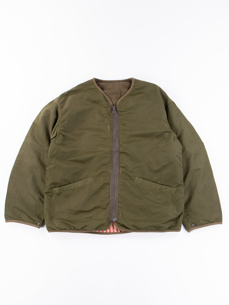Olive Iris Liner Jacket