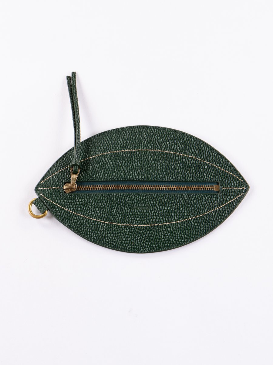 Green Sixth Man Football Pouch