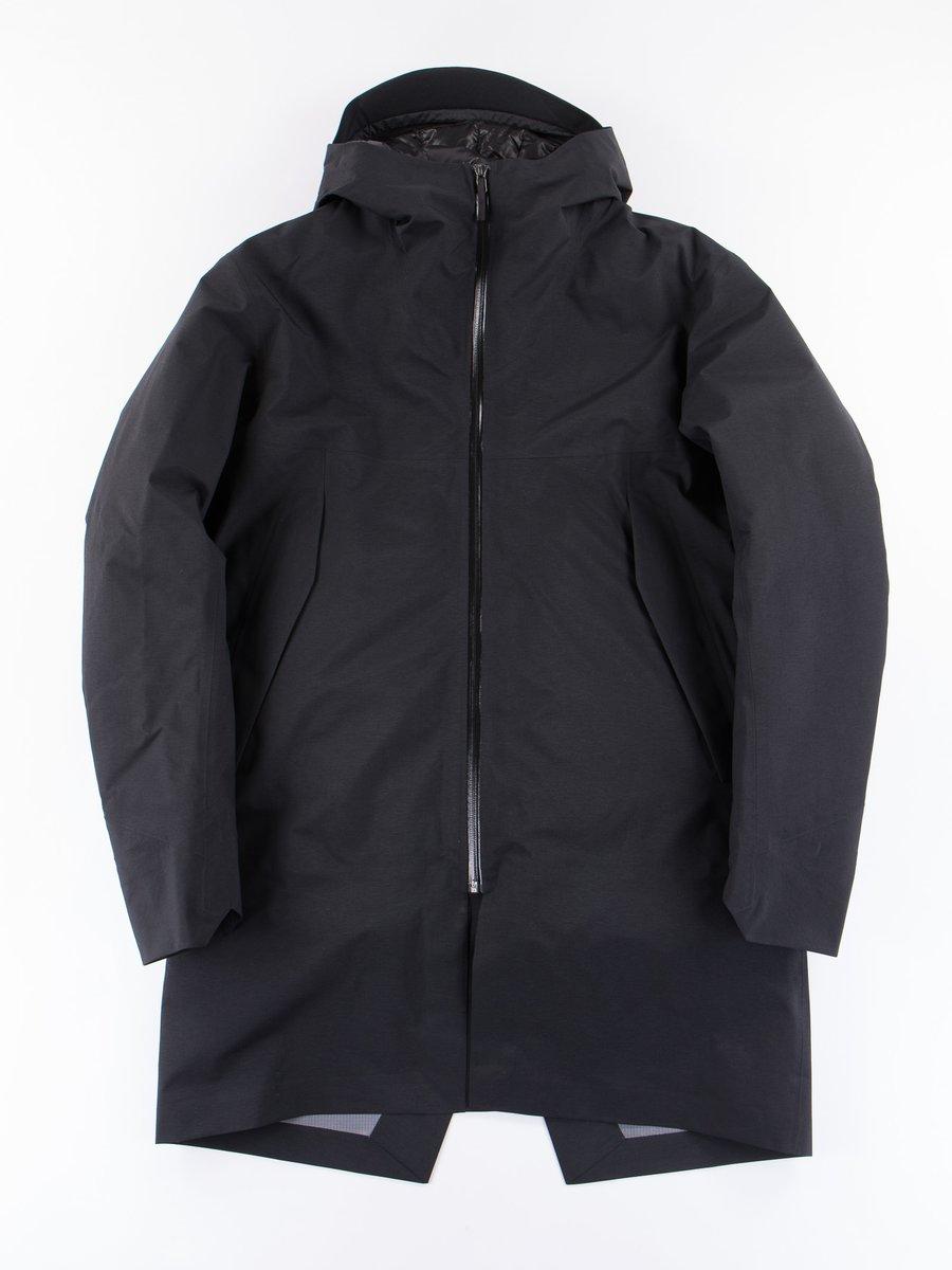Black Monitor Down Coat