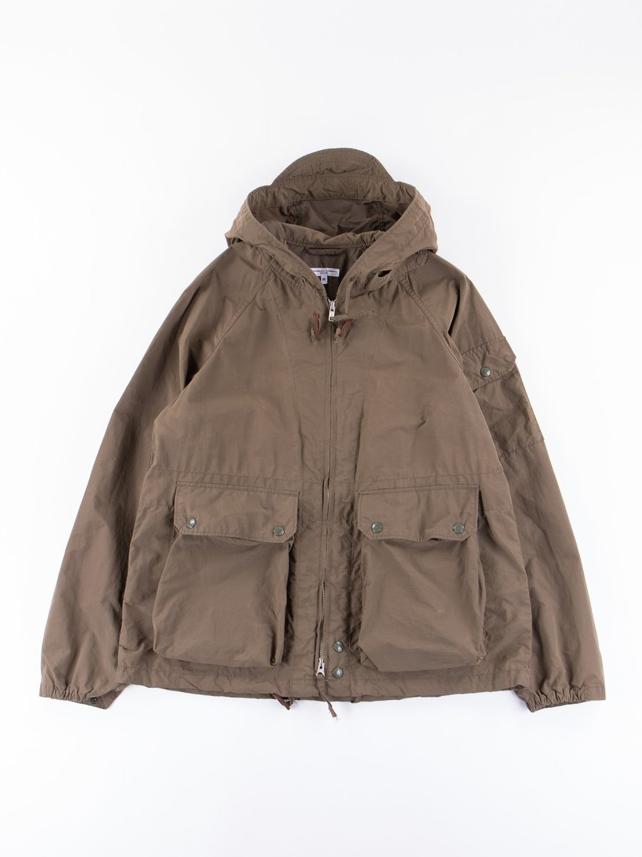 Olive 4.5oz Waxed Cotton Atlantic Parka