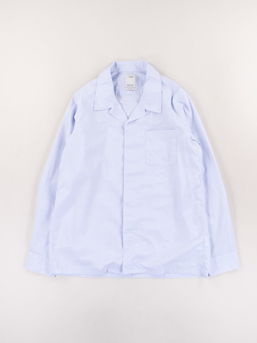 Light Blue Free Edge Shirt