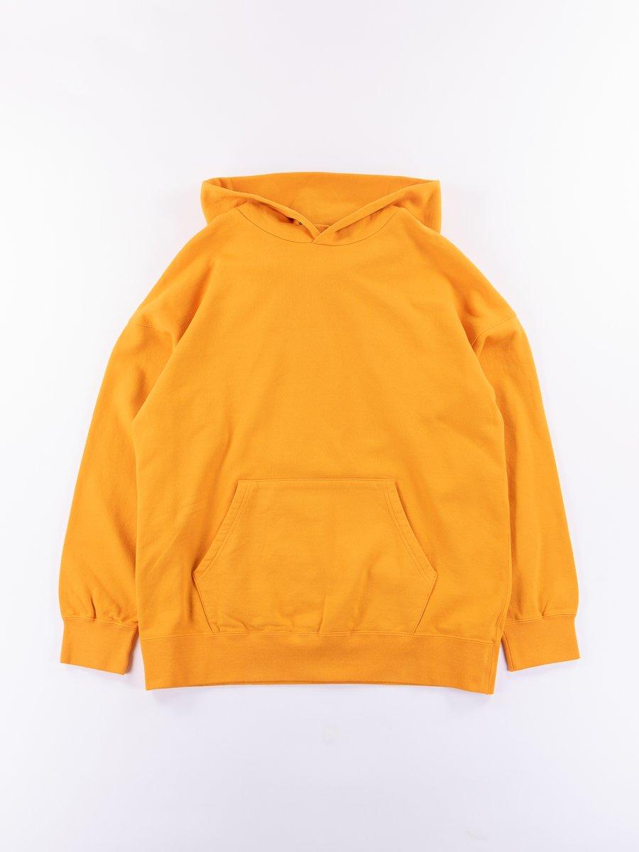 Orange Veggie Dye Jumbo P.O. Hoodie