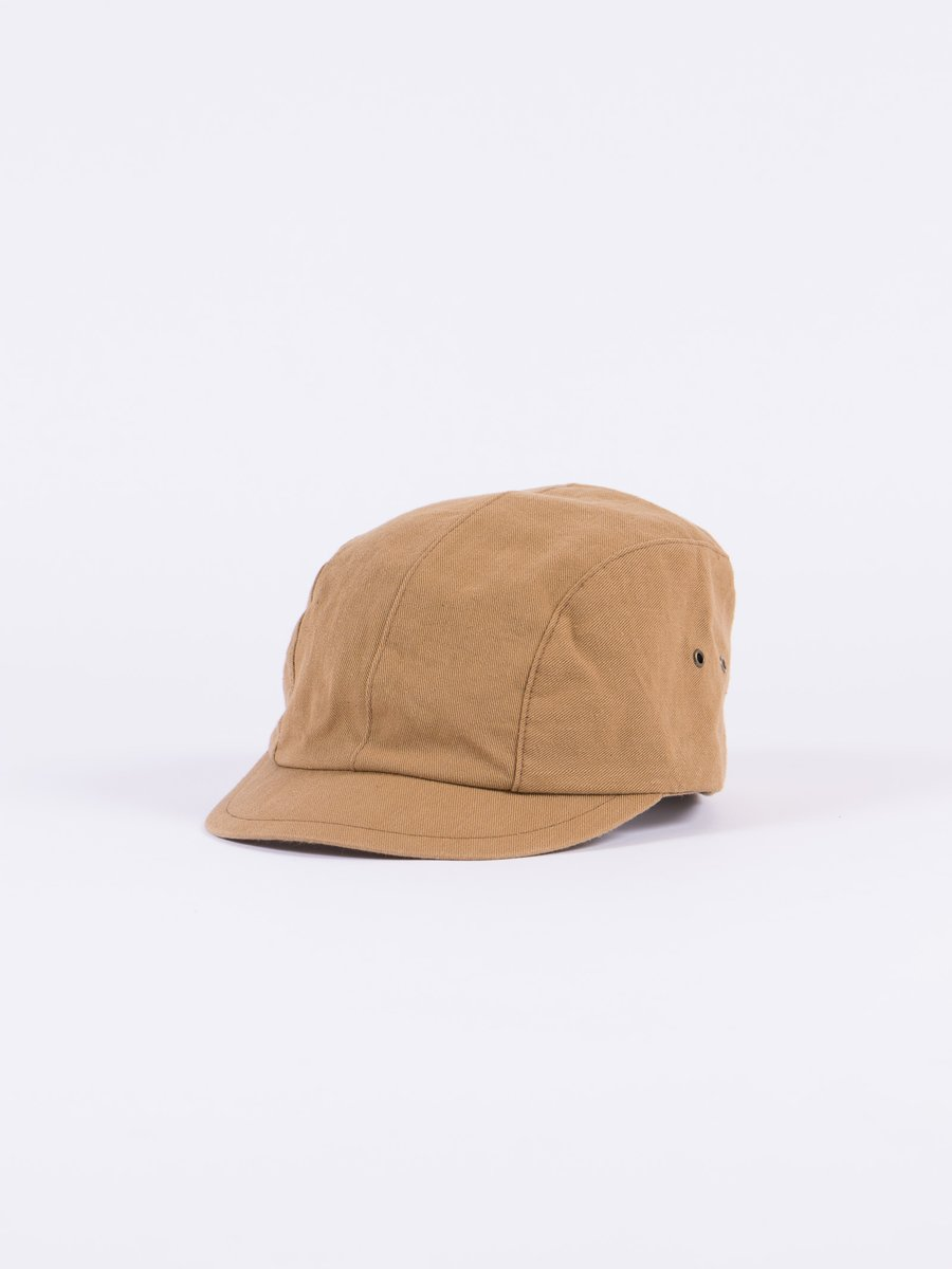 Khaki Selvage Chino Cloth Work Cap