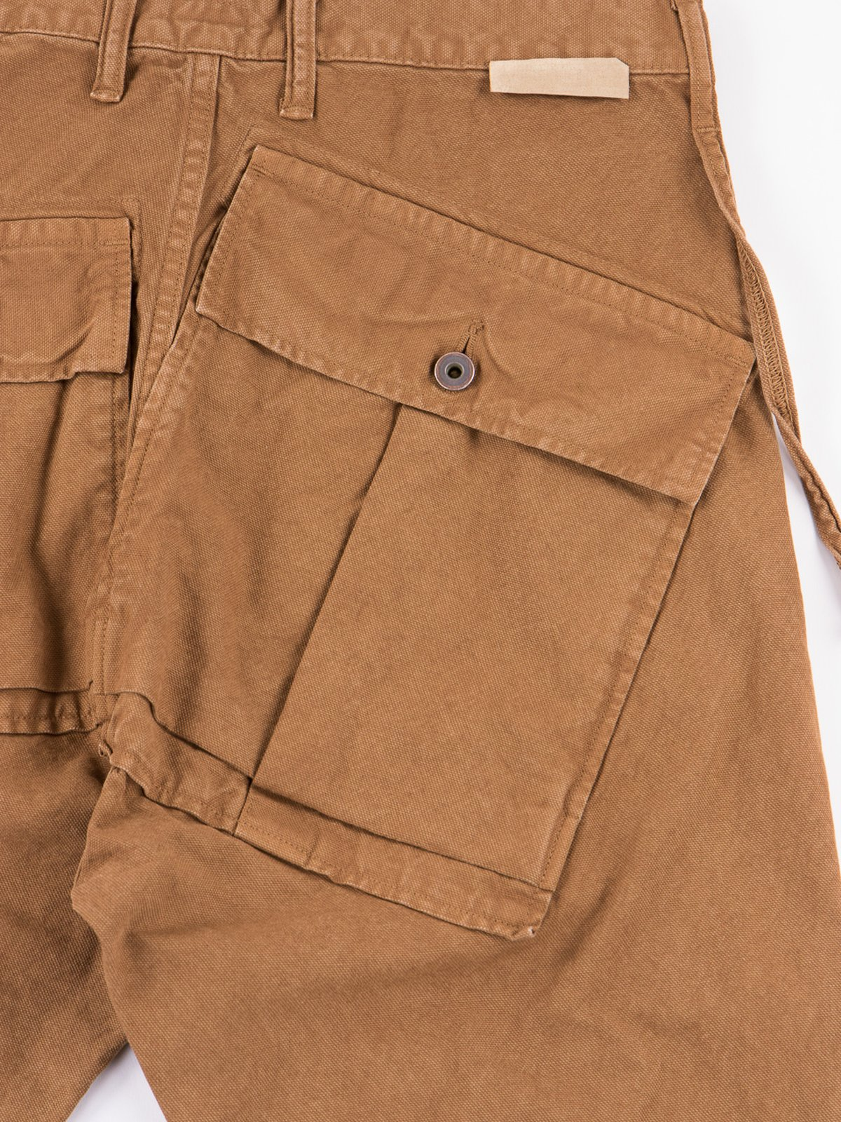 Gold Light Canvas Ringo Man Cargo Pant - Image 5