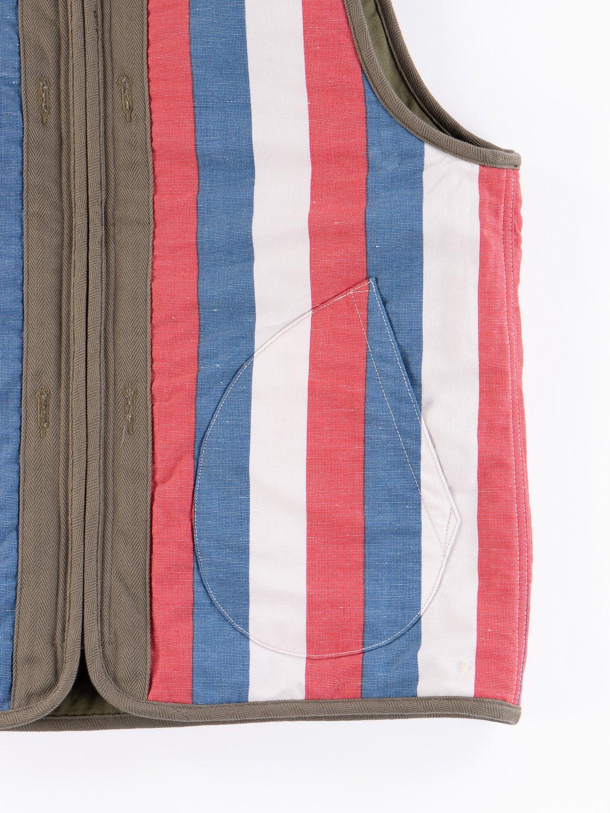 Olive Iris Cotton Liner Vest - Image 9