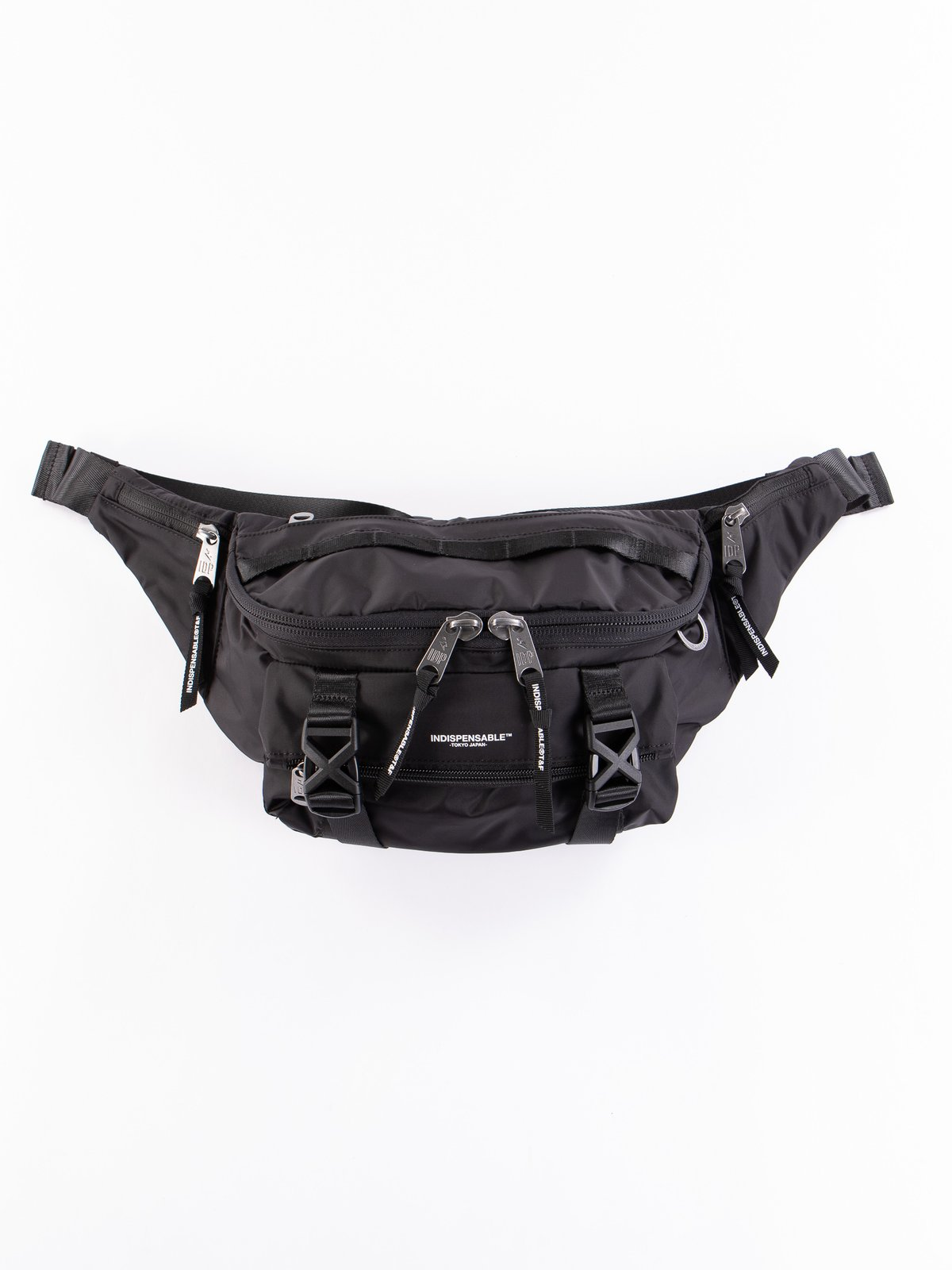 Black Econyl Attach IDP Belt Bag - Image 1
