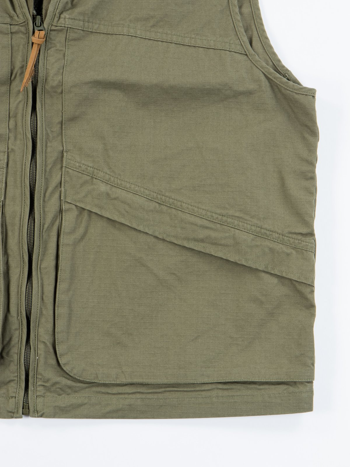 Green Ripstop Utility Vest - Image 5
