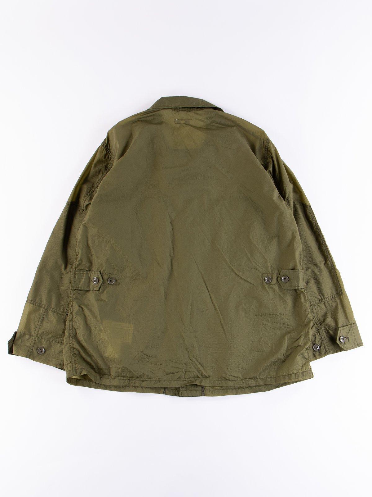 Olive Nylon Micro Ripstop BDU Jacket - Image 5