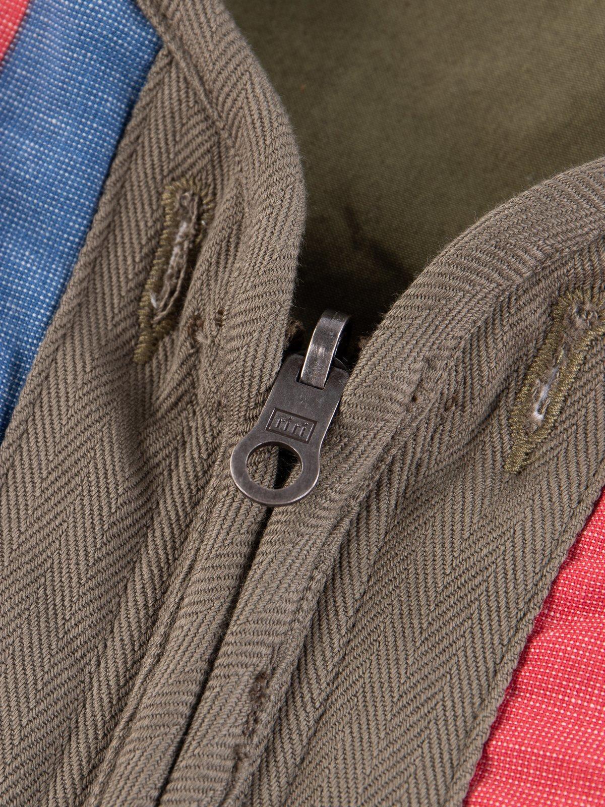 Olive Iris Cotton Liner Vest - Image 10