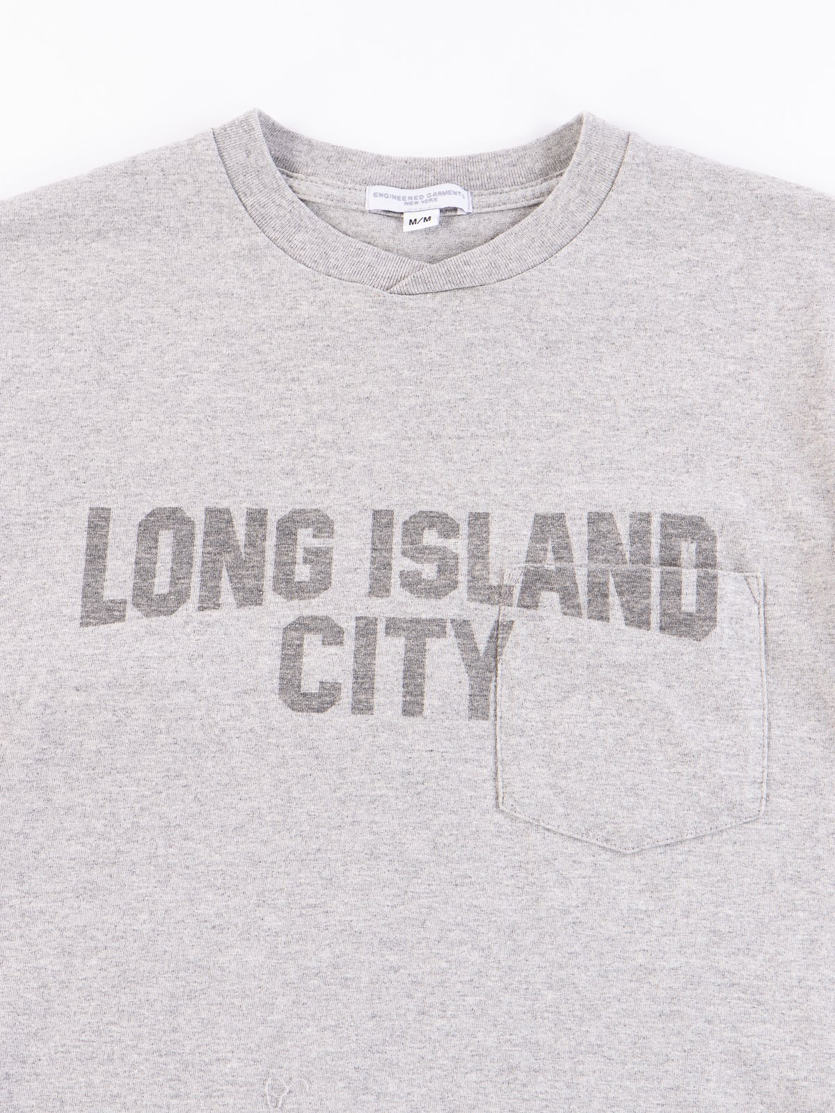 Grey Long Island City Printed T–Shirt - Image 3