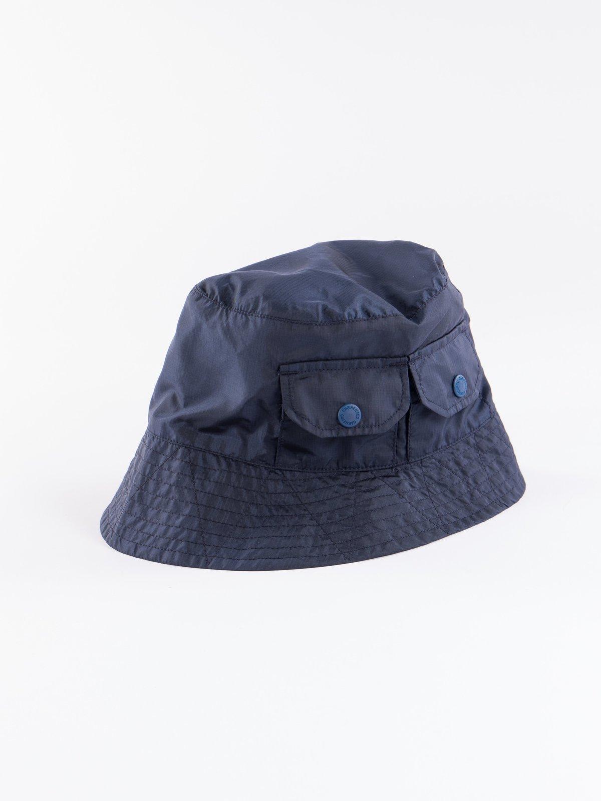 Navy Nylon Micro Ripstop Explorer Hat - Image 3