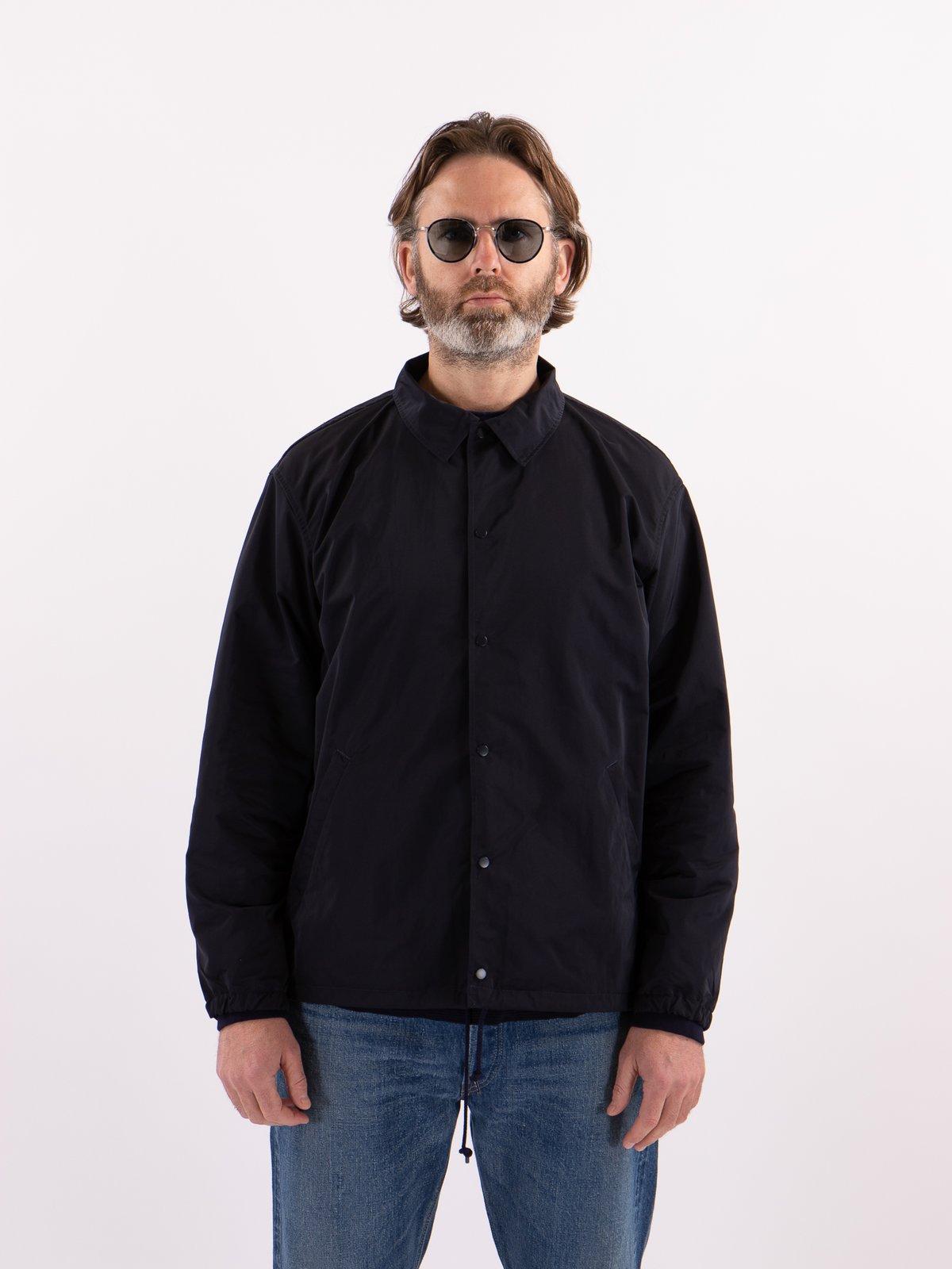 Navy Coach Jacket - Image 2