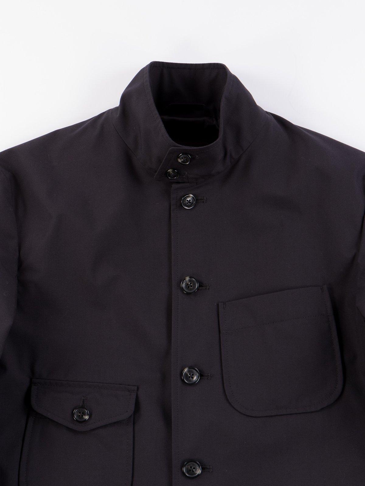 Black Structured EG Blazer - Image 4