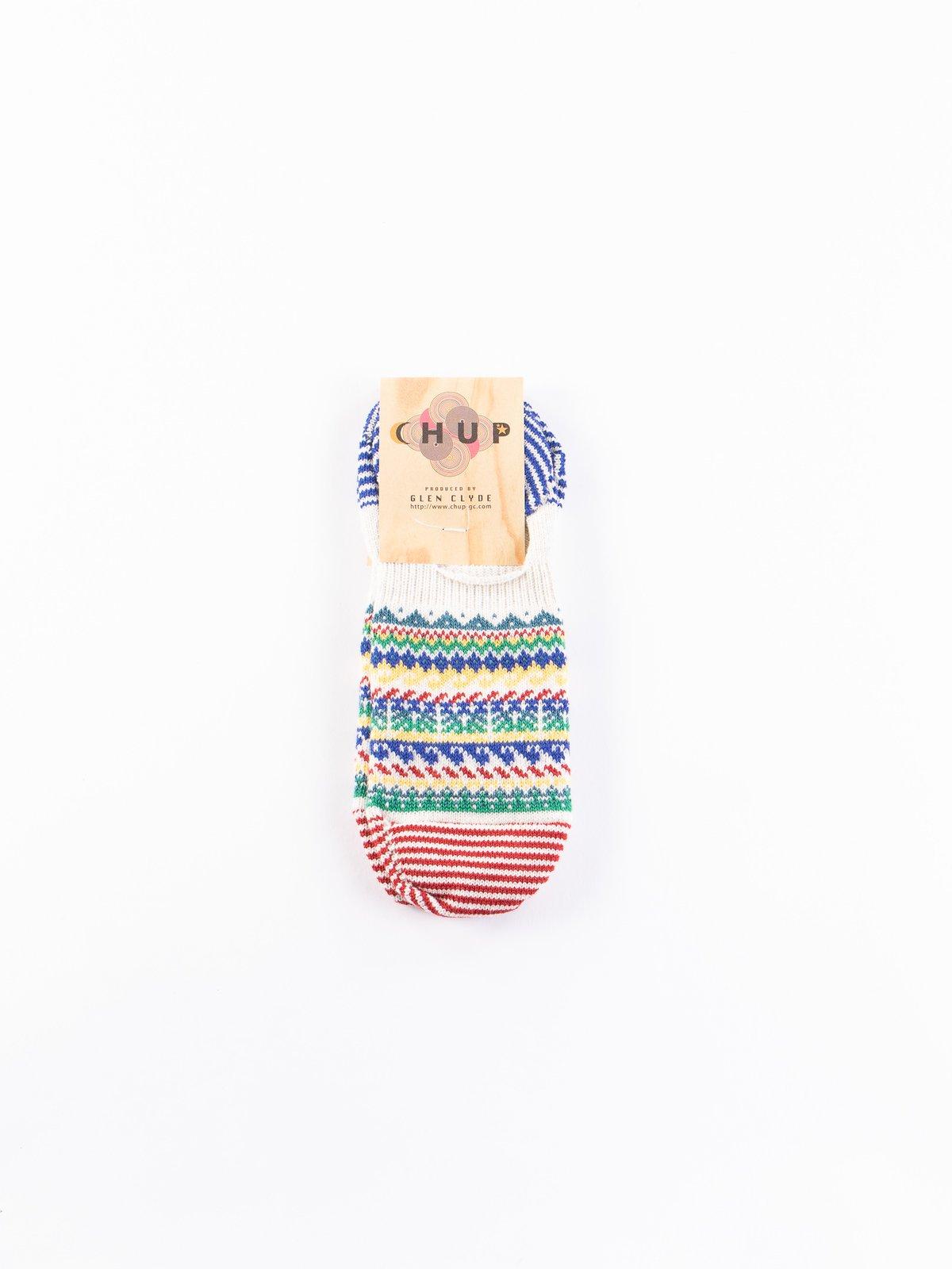 Oatmeal Loch Trainer Socks - Image 1