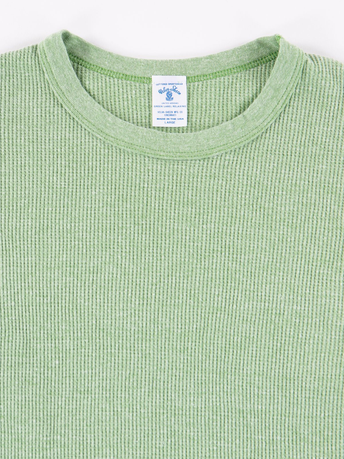 Heather Lime Tri Thermal T–Shirt - Image 2