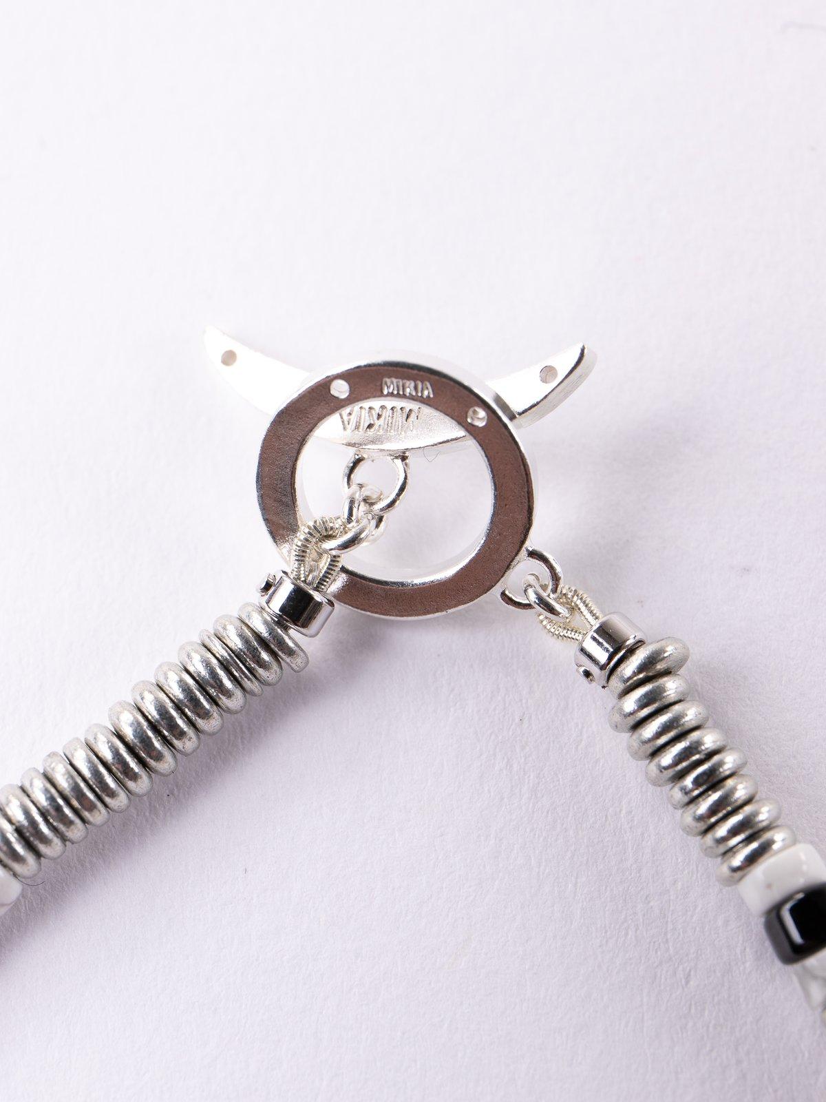 Howlite Tube Beads Bracelet - Image 2
