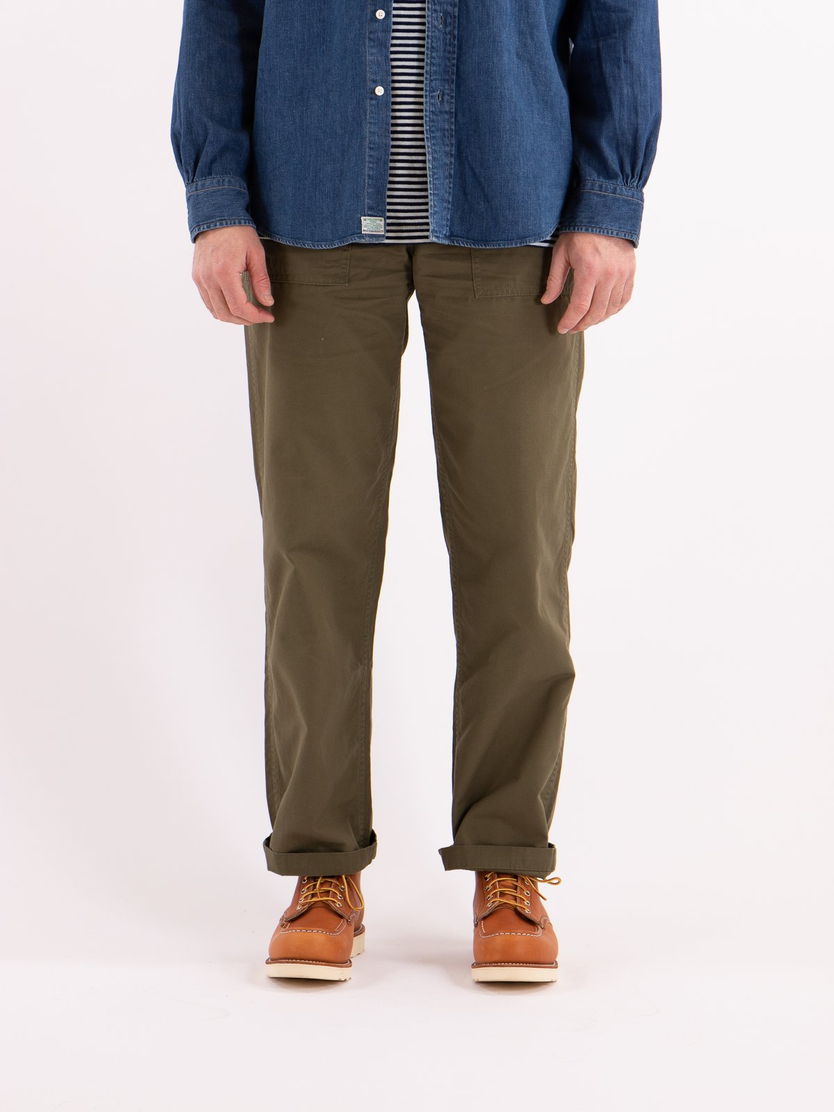 Army Green Ripstop Regular Fit US Army Fatigue Pant - Image 2