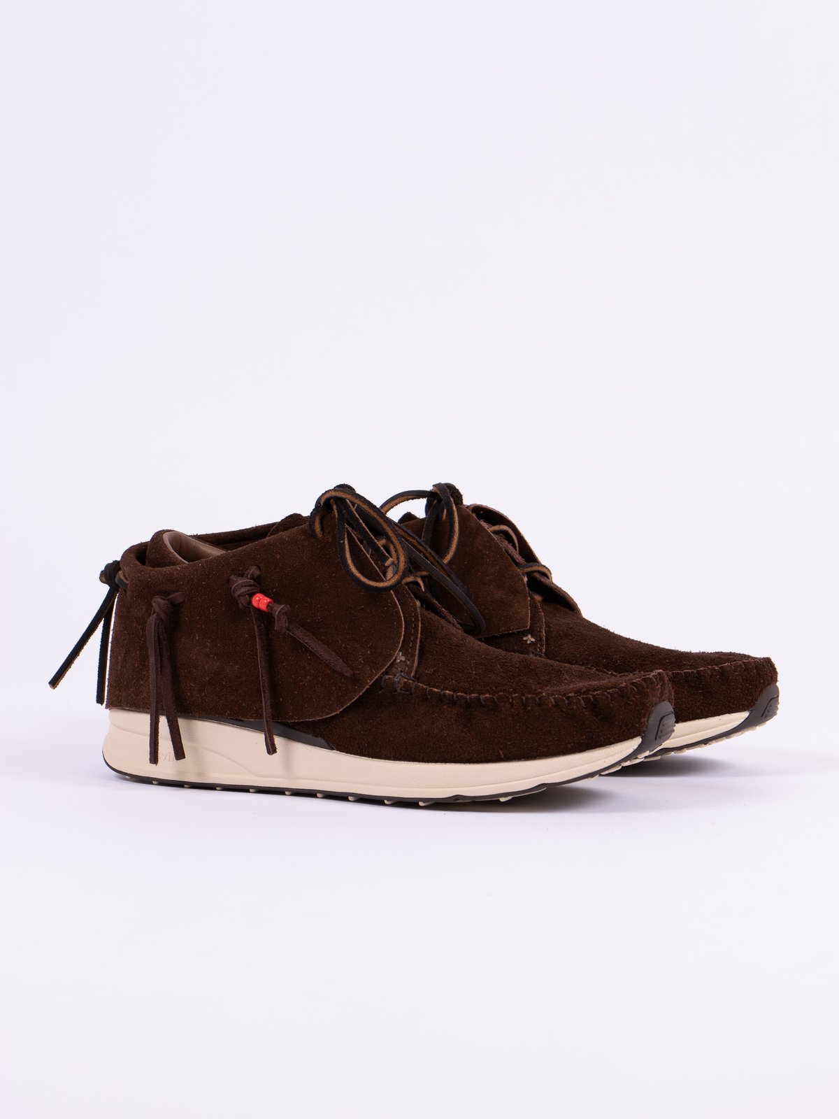 Dark Brown Veg Suede FBT - Image 1