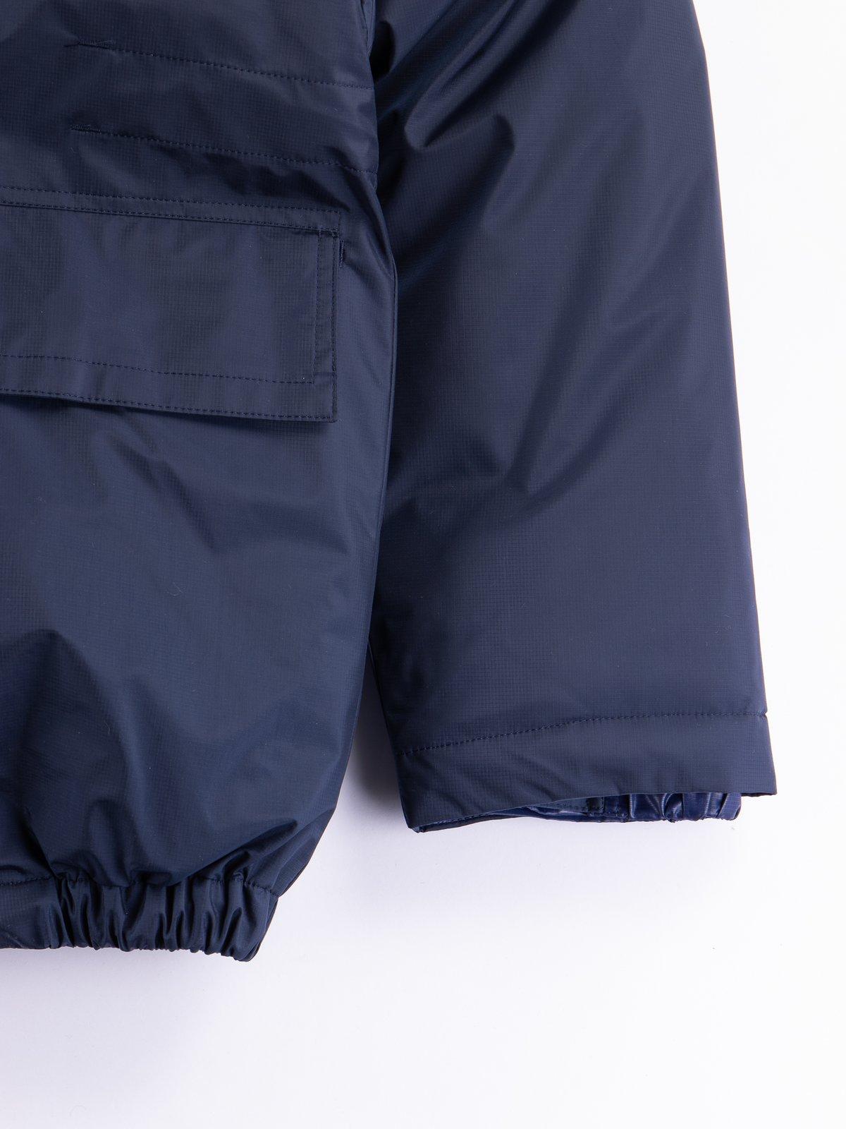 Navy/Blue Arktikal Down Jacket - Image 3