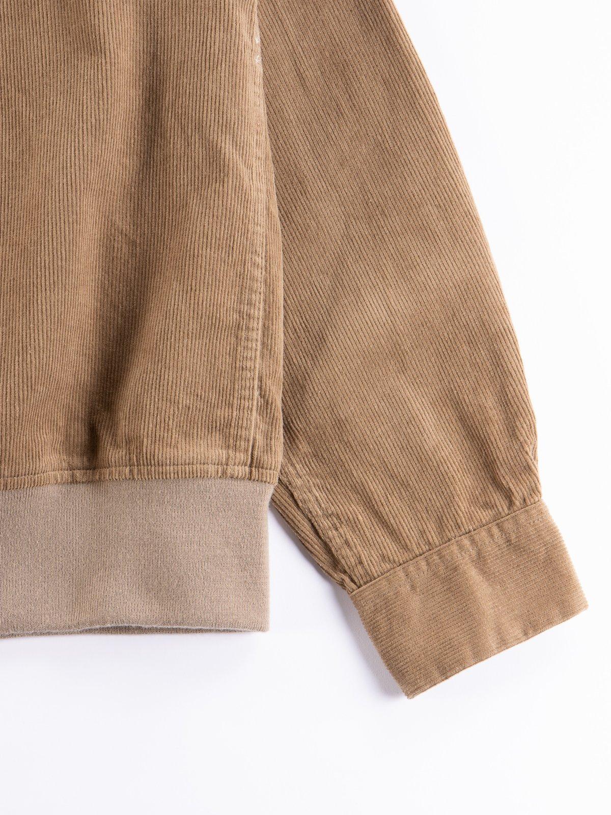 Khaki 14W Corduroy Classic Shirt - Image 4