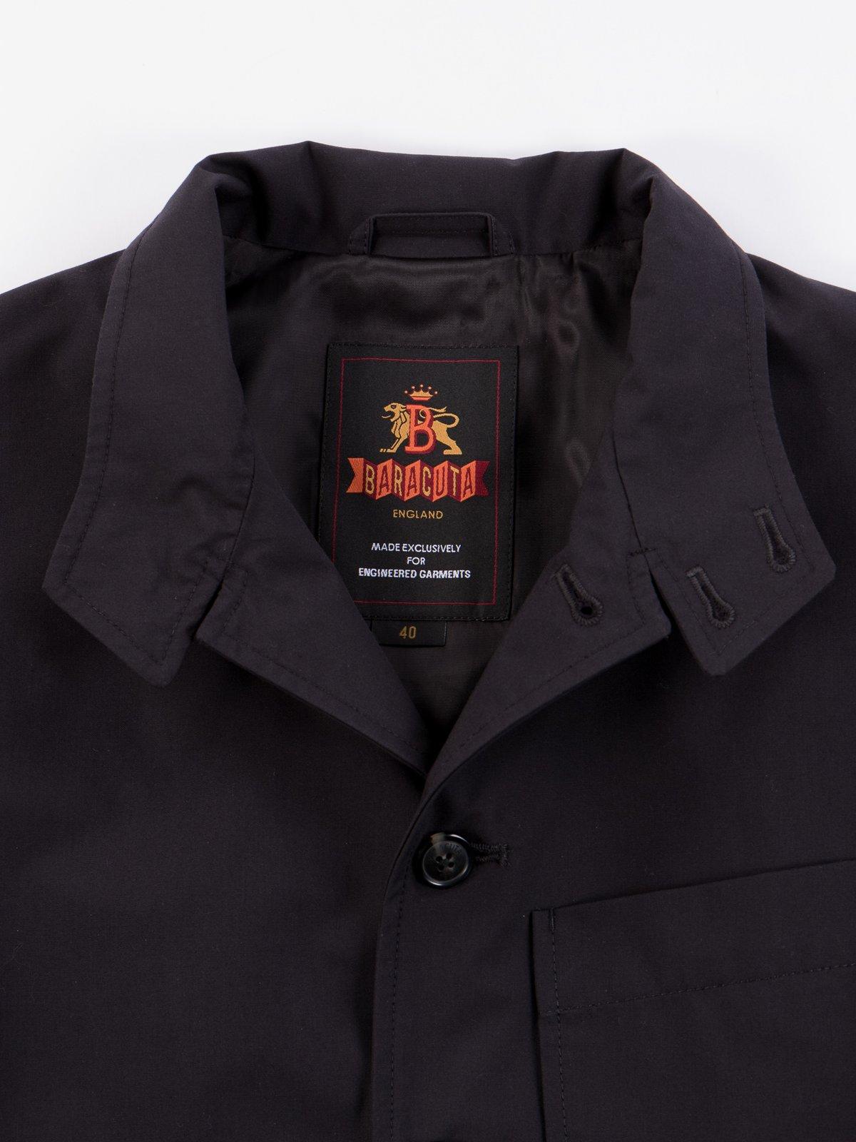 Black Structured EG Blazer - Image 6