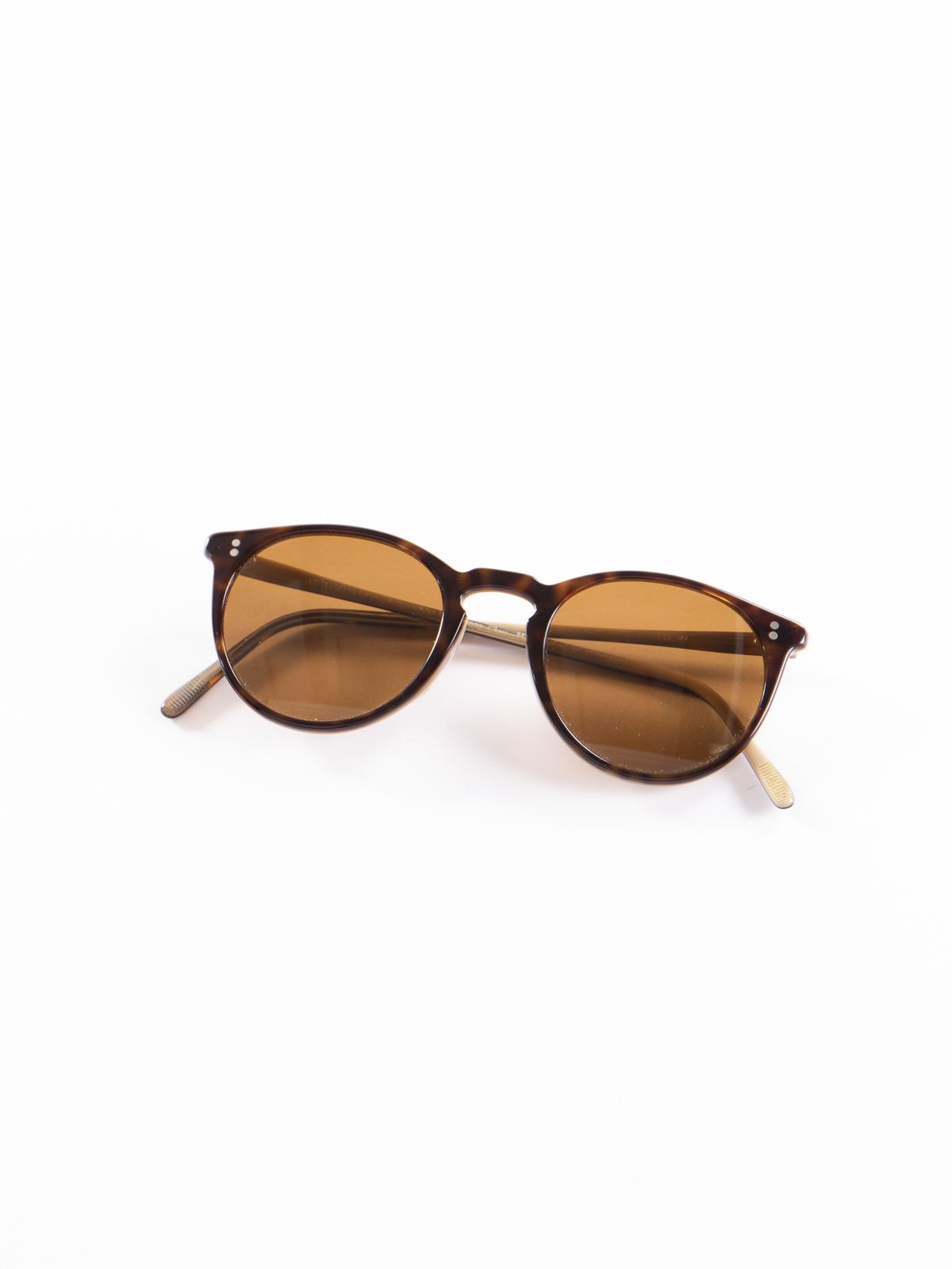 362–Horn/Brown O'Malley Sunglasses - Image 1