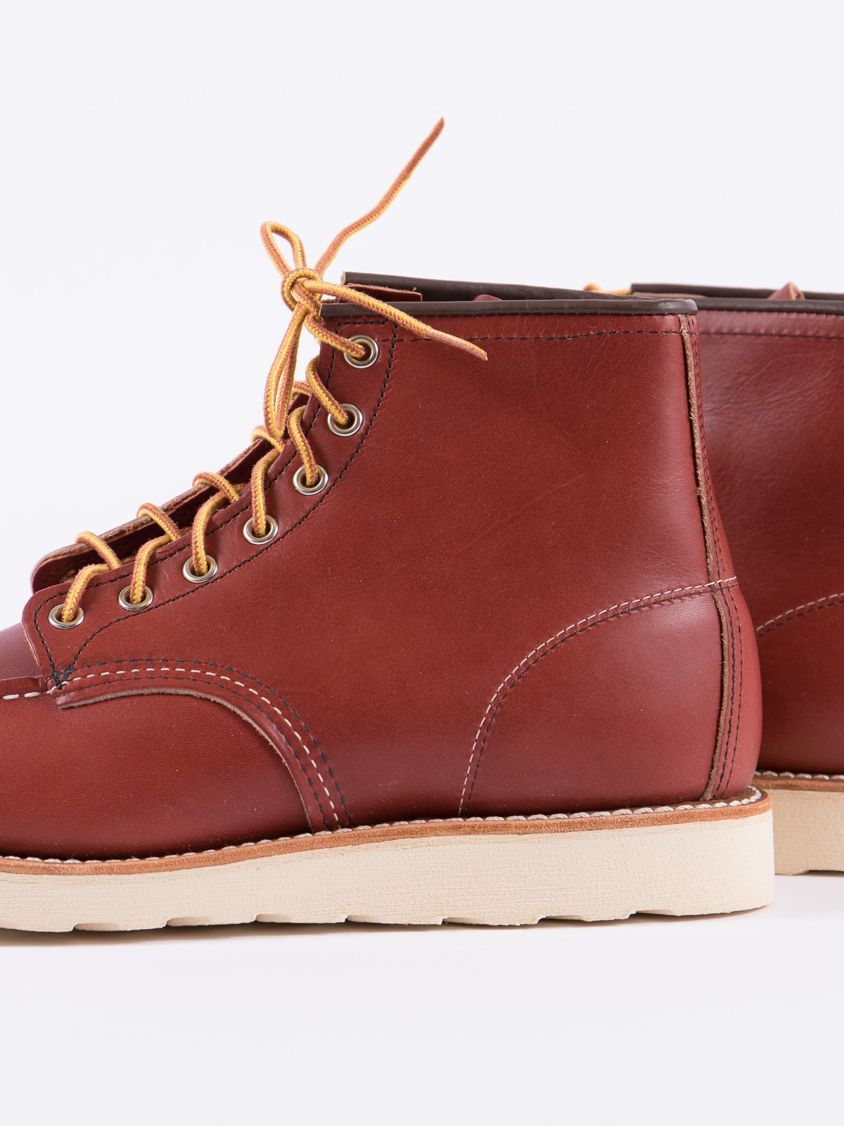 "ORO RUSSET PORTAGE 8131 HERITAGE 6"" MOC TOE BOOT - Image 3"