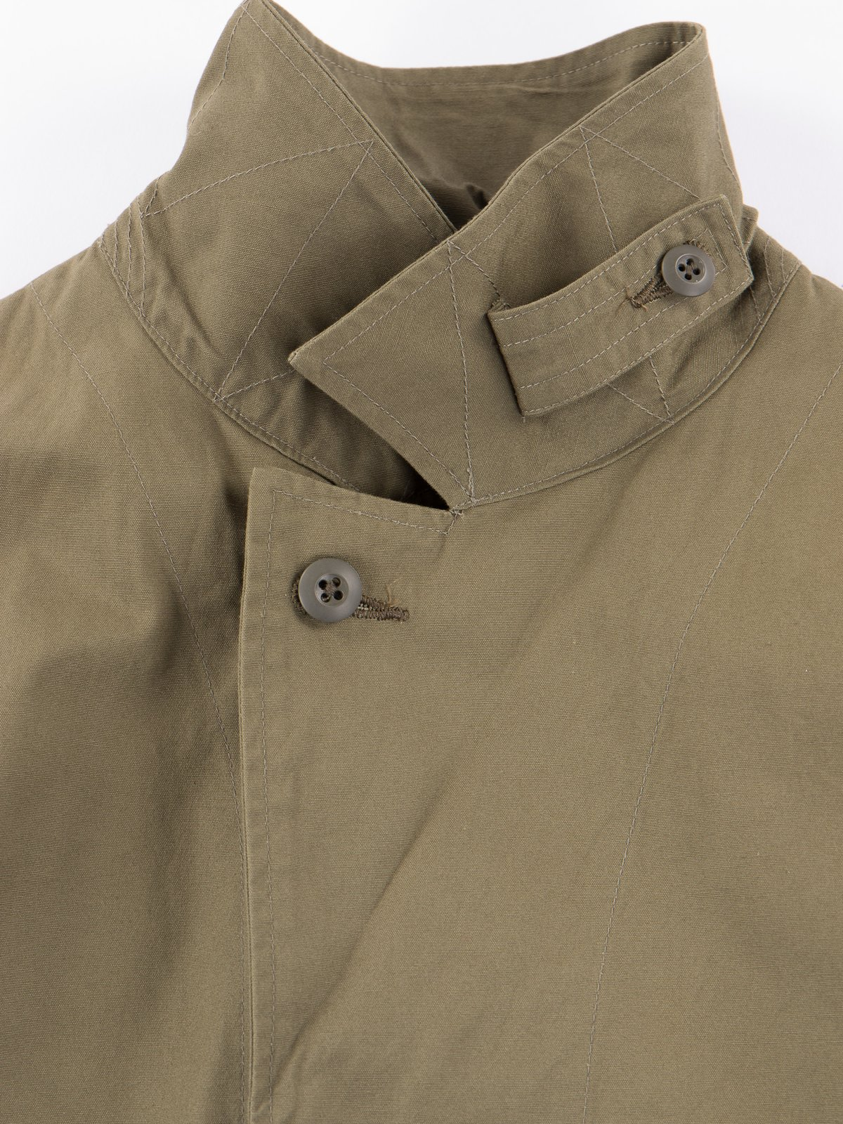 Olive Utility Coverall Jacket - Image 4