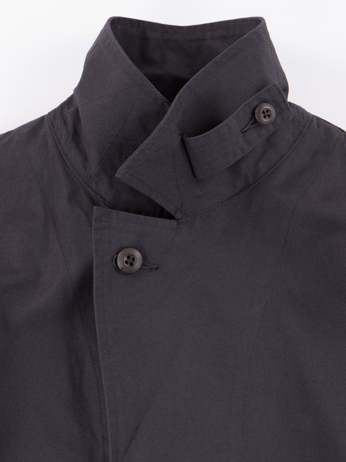 Fade Black Utility Coverall Jacket - Image 4