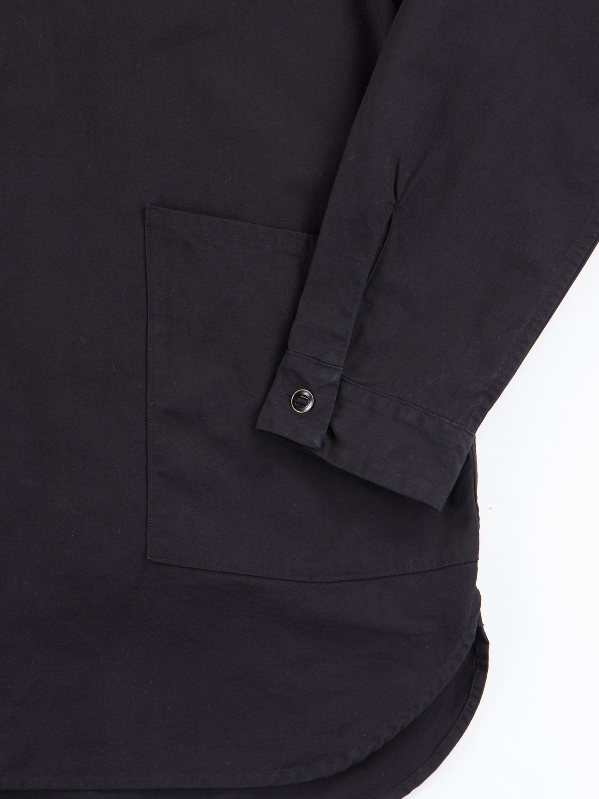 Black Gardener Shirt Jacket - Image 3