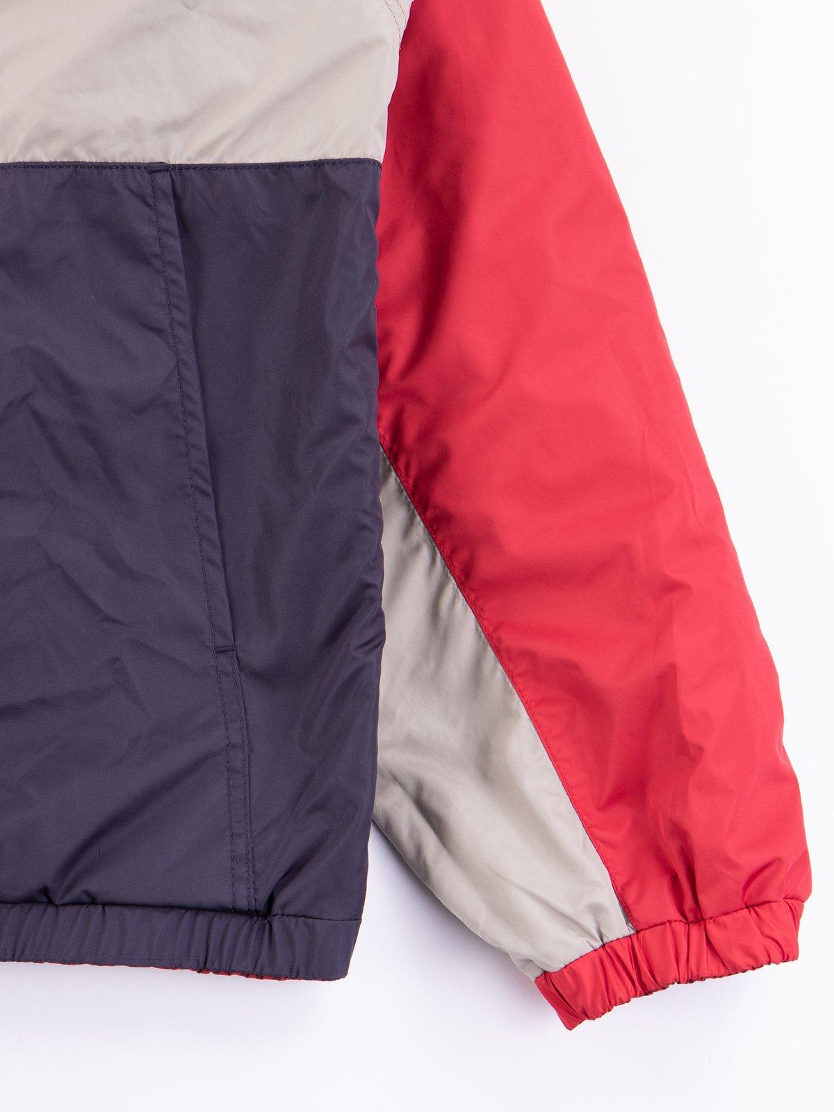 Red Gingham Reversible Jacket - Image 8