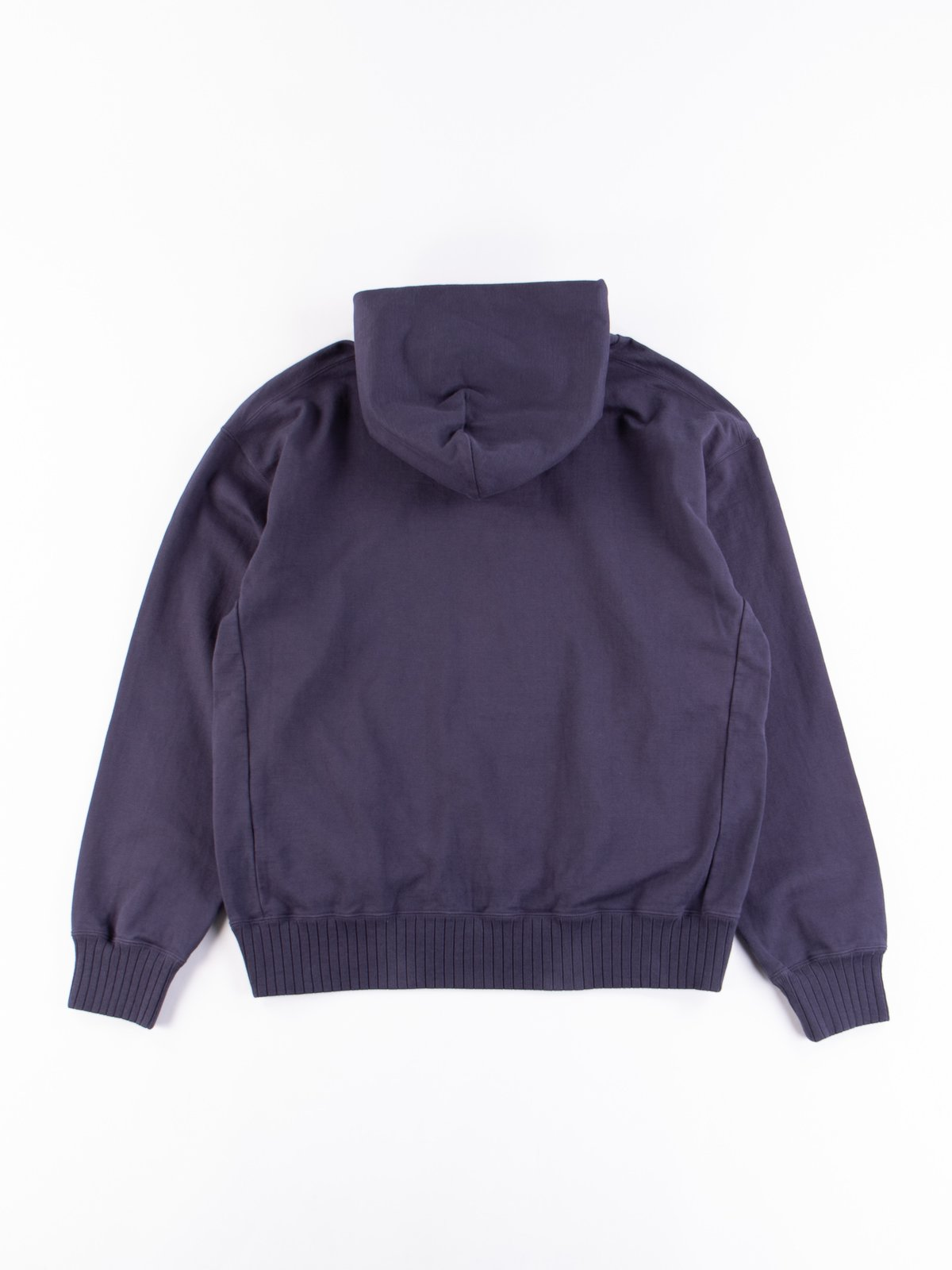 Classic Navy High Density Sweat Pullover Parka - Image 5