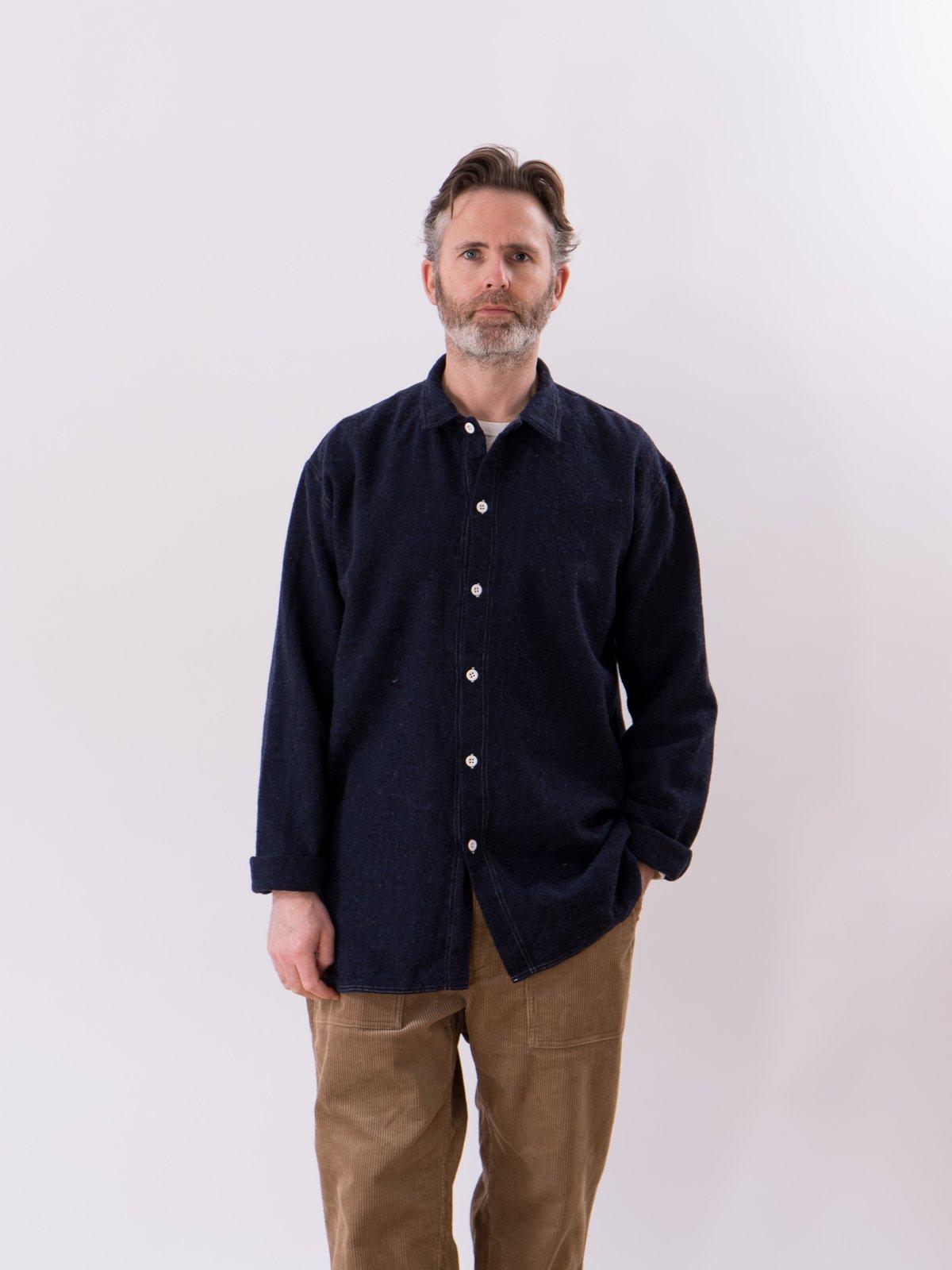 Navy Weavers Stock Tail Shirt - Image 2