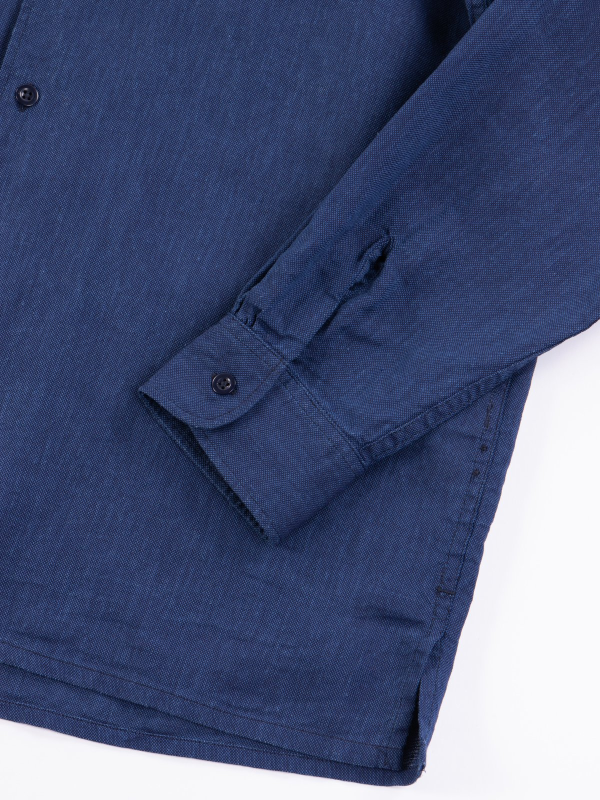 Navy CL Solid Classic Shirt - Image 5