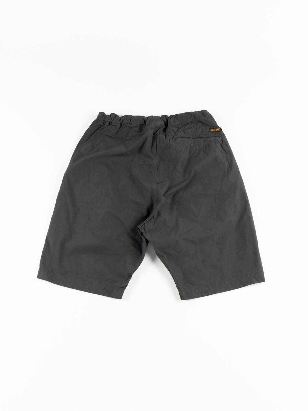 NEW YORKER SHORTS GRAY COTTON TYPEWRITER CLOTH - Image 4