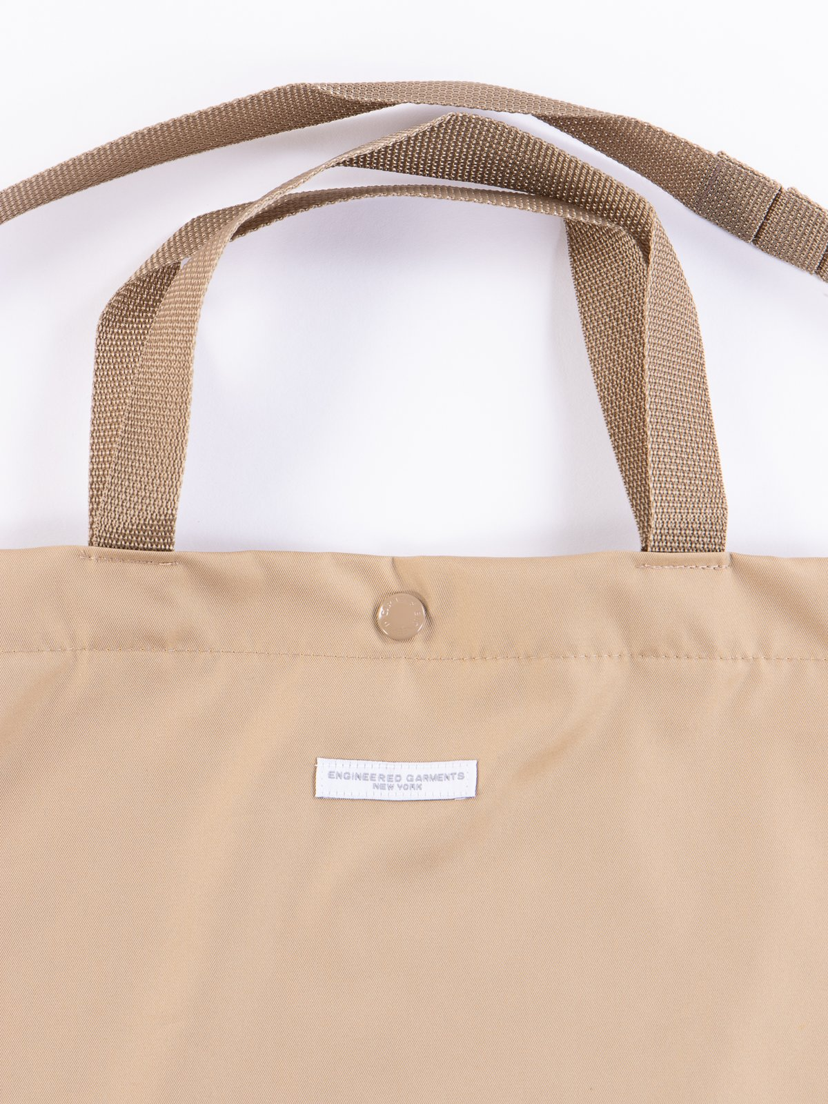 Khaki PC Iridescent Twill Carry All Tote - Image 3