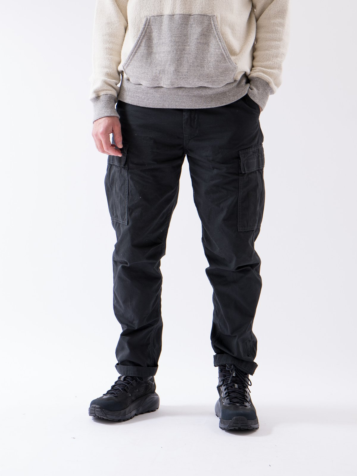 Grey Weather Cloth Easy Cargo Pant - Image 2