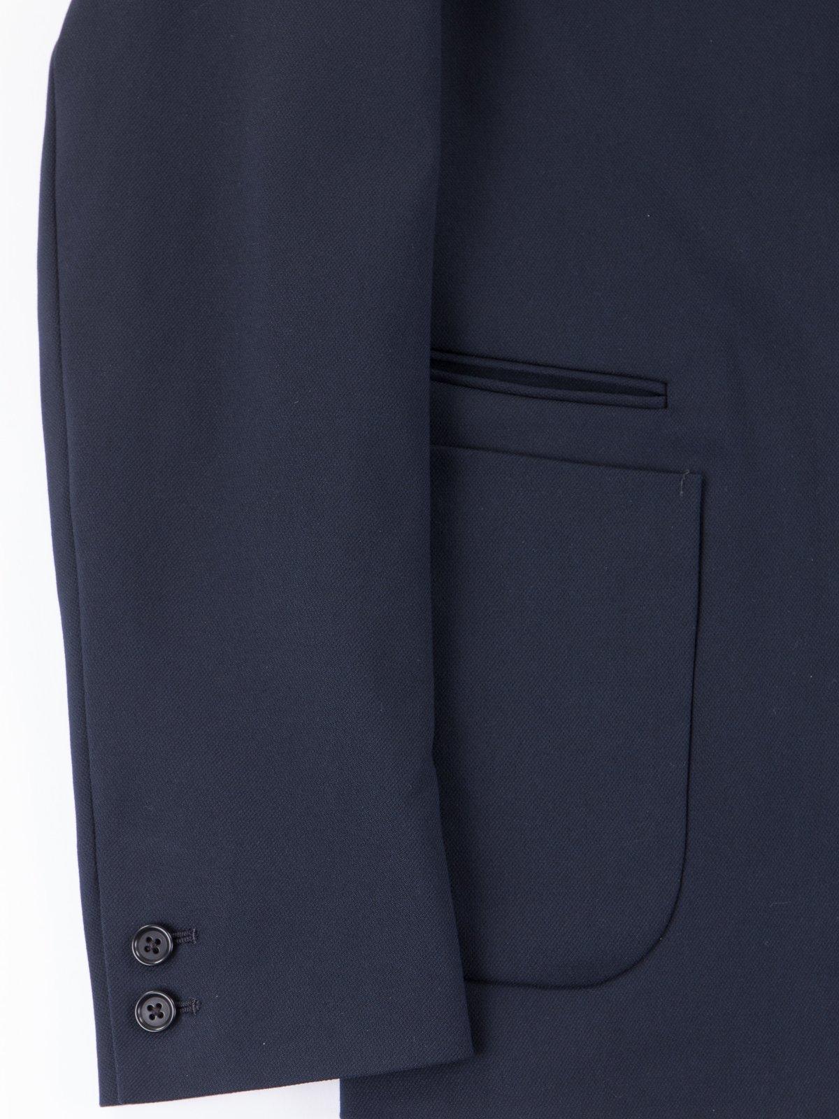 Dark Navy Lounge Jacket - Image 4