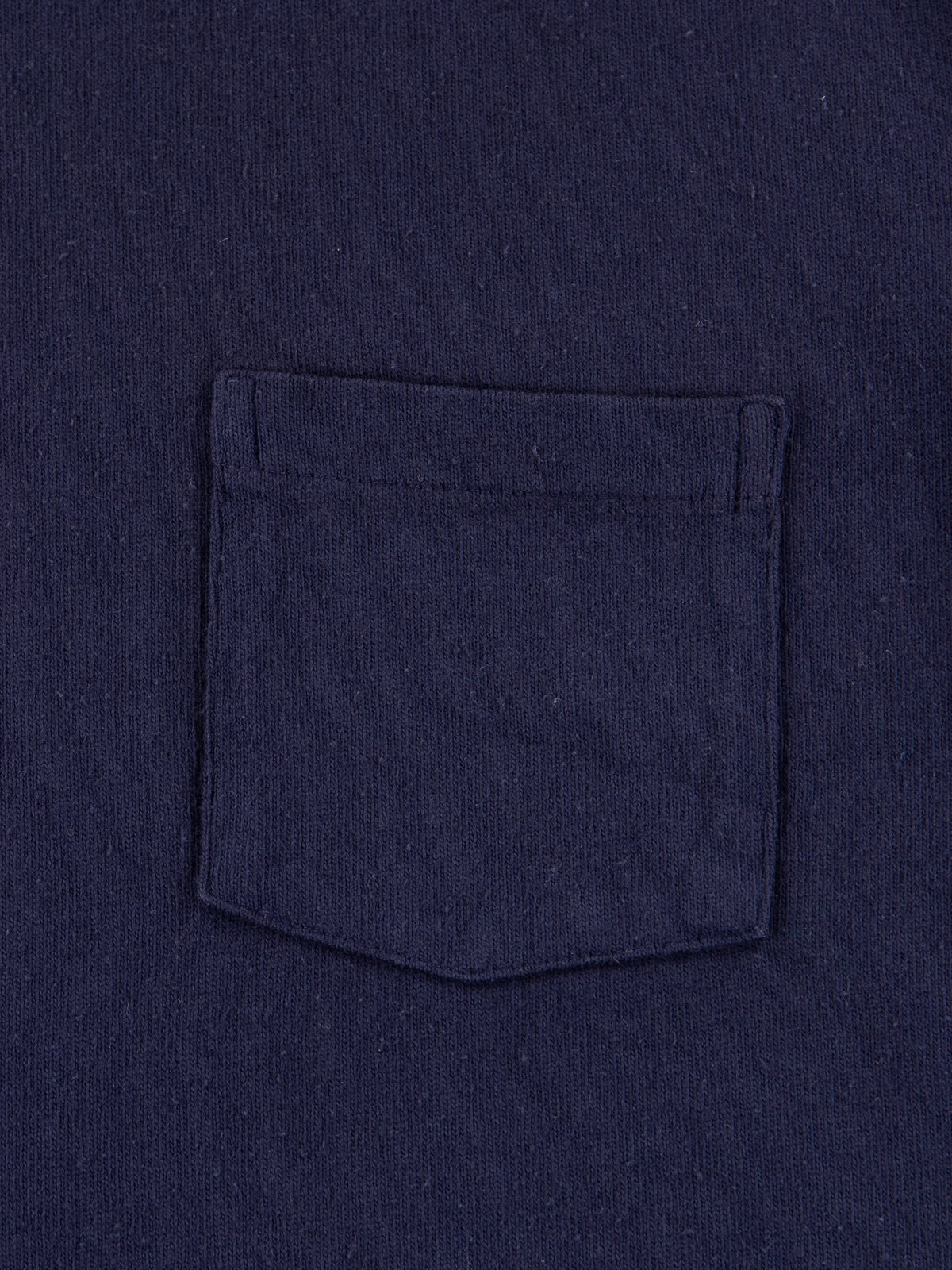 Navy Heavy Oz Pocket Tee - Image 3